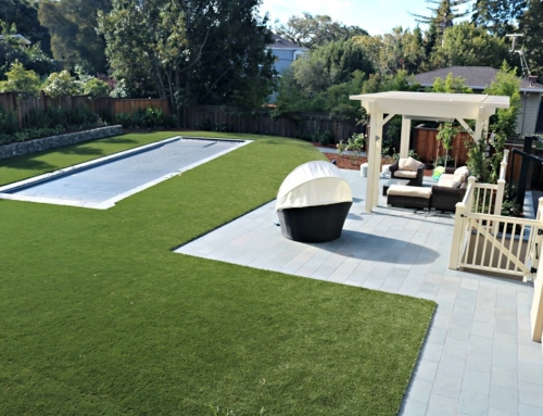Synthetic Turf & Bluestone Pool Patio