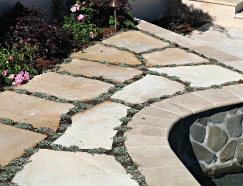 Sand-Set Flagstone Patio