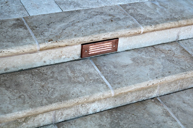 Perfect Travertine Stairtreads